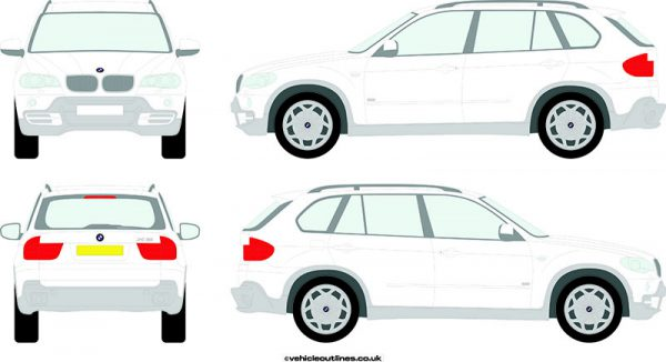 4x4 BMW X5 2006-13