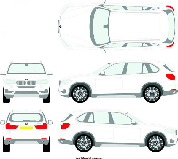 4x4 BMW X5 2014-19