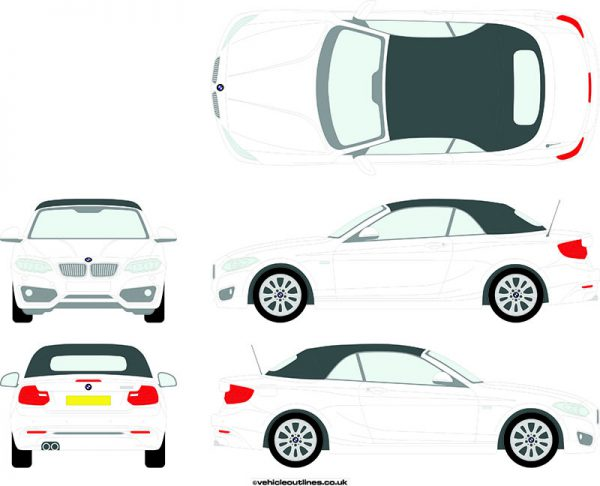 Cars BMW 2 Series 2014-21