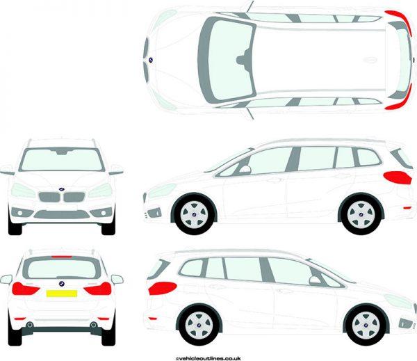 Cars BMW 2 Series 2015-19