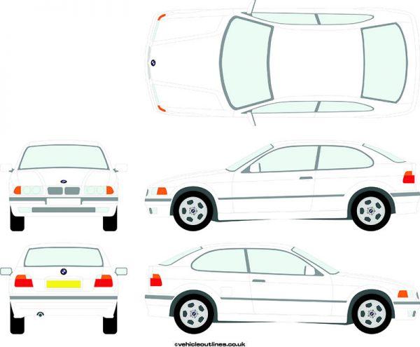 Cars BMW 3 Series 1993-2000