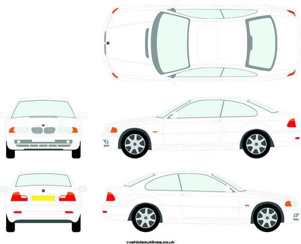 Cars BMW 3 Series 1998-2004
