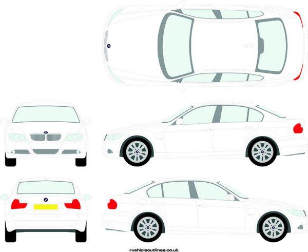 Cars BMW 3 Series 2005-11