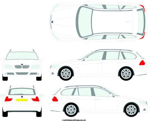 Cars BMW 3 Series 2006-12
