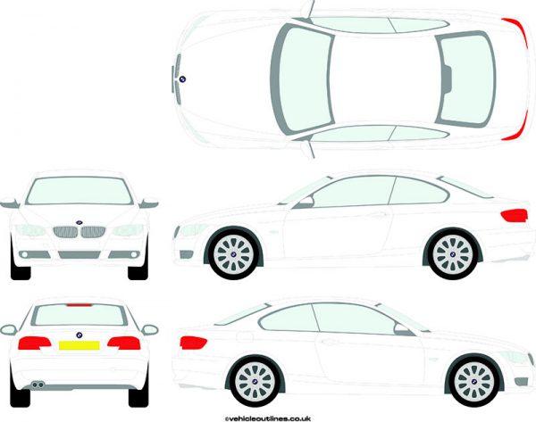 Cars BMW 3 Series 2007-10