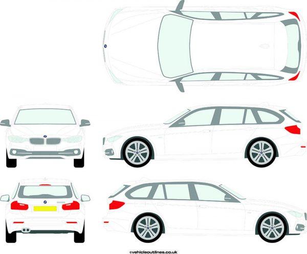 Cars BMW 3 Series 2015-19