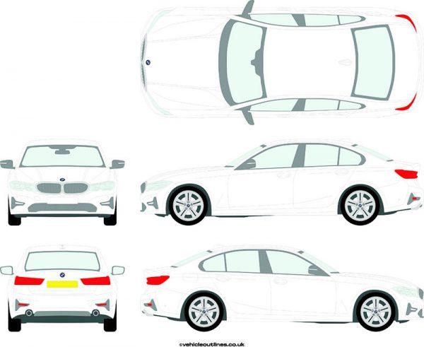 Cars BMW 3 Series 2019-21