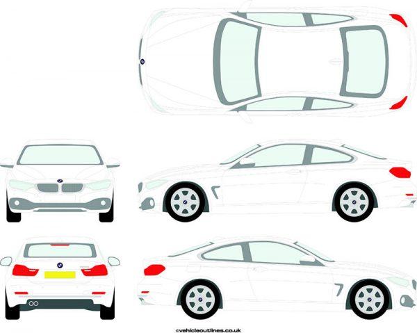 Cars BMW 4 Series 2013-21