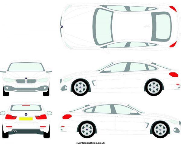 Cars BMW 4 Series 2014-21