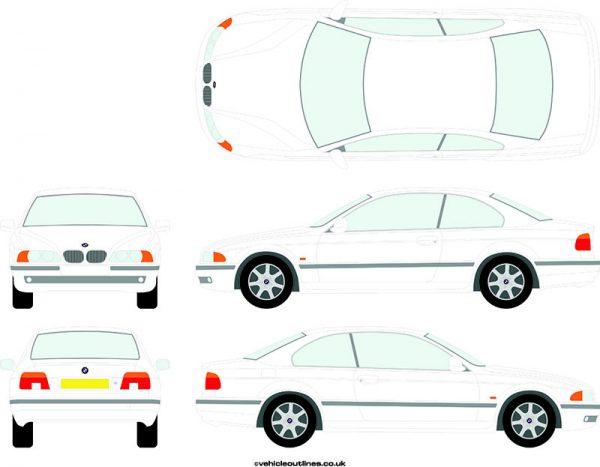 Cars BMW 5 Series 1995-2003