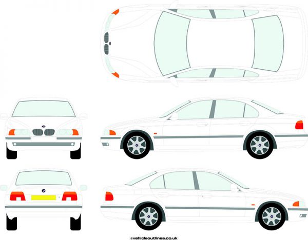 Cars BMW 5 Series 1996-2003