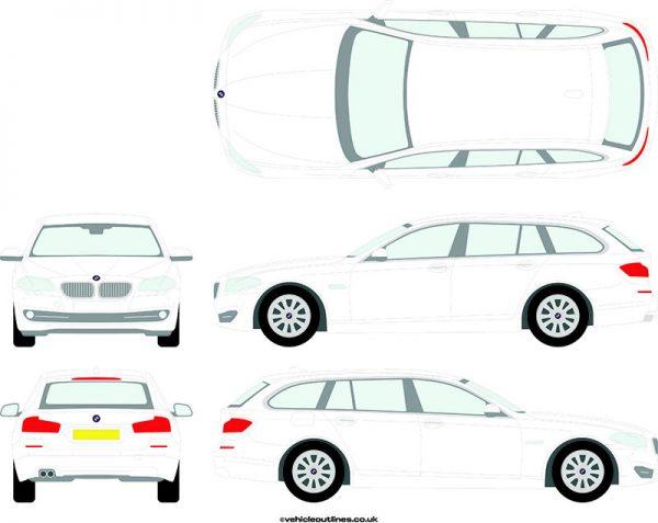 Cars BMW 5 Series 2010-17