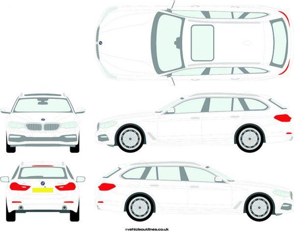 Cars BMW 5 Series 2017-21