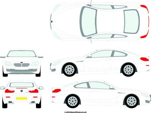 Cars BMW 6 Series 2011-18