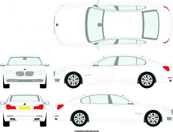 Cars BMW 7 Series 2012-16