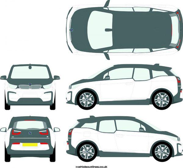 Cars BMW I3 2018-21