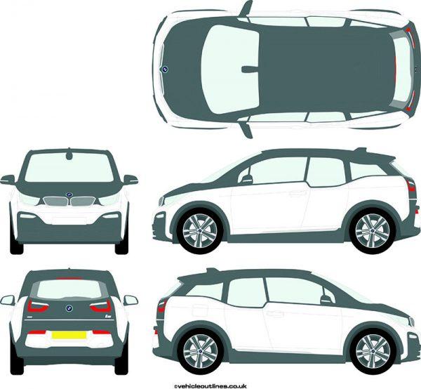 Cars BMW I3s 2018-21