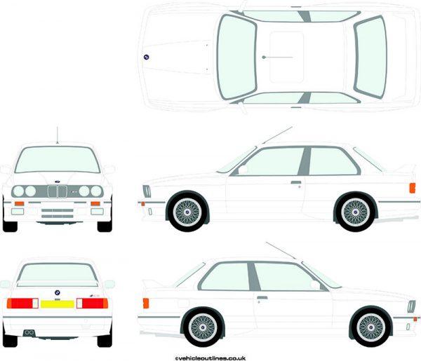 Cars BMW M3 1989-92