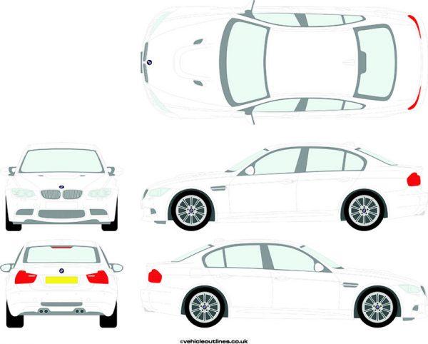 Cars BMW M3 2008-11