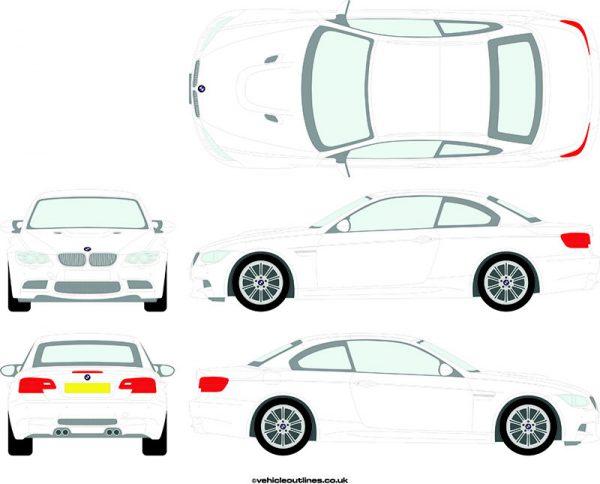 Cars BMW M3 2008-13