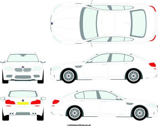 Cars BMW M5 2011-20
