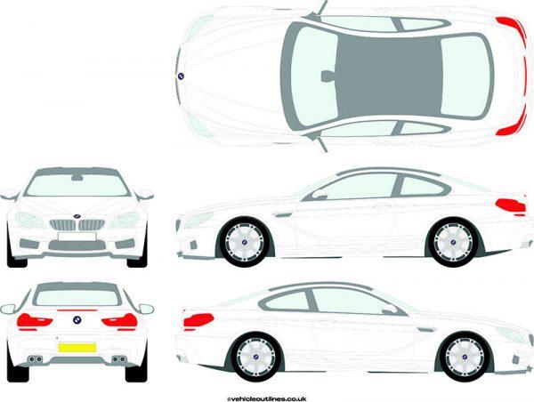 Cars BMW M6 2012-18