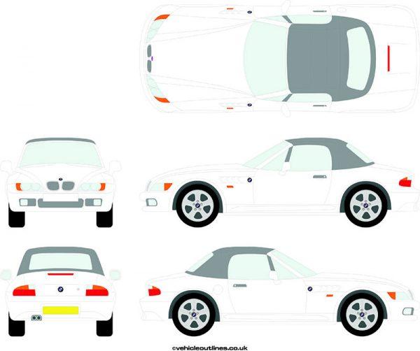 Cars BMW Z3 1995-99