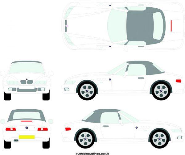 Cars BMW Z3 1999-2002
