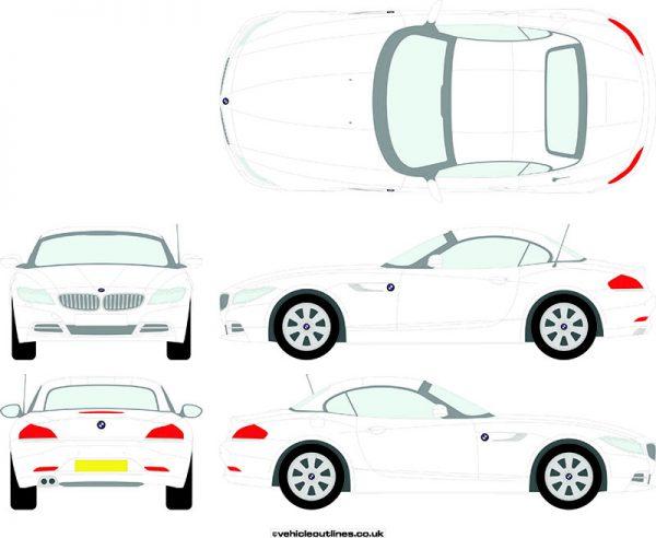 Cars BMW Z4 2009-18