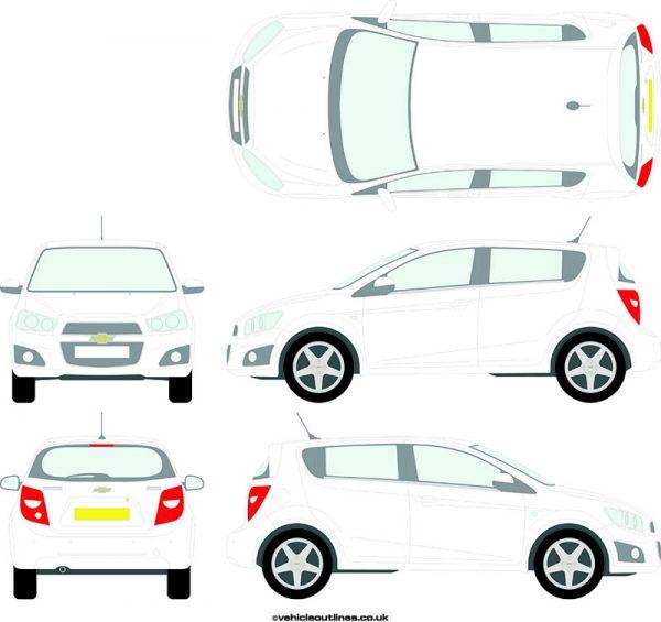 Cars Chevrolet Aveo 2011-18