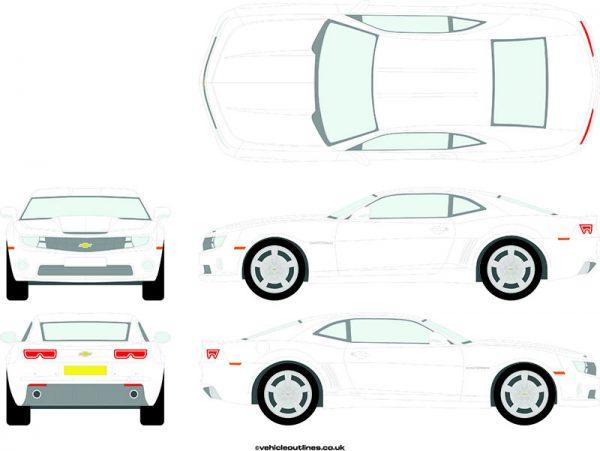 Cars Chevrolet Camero 2010-15