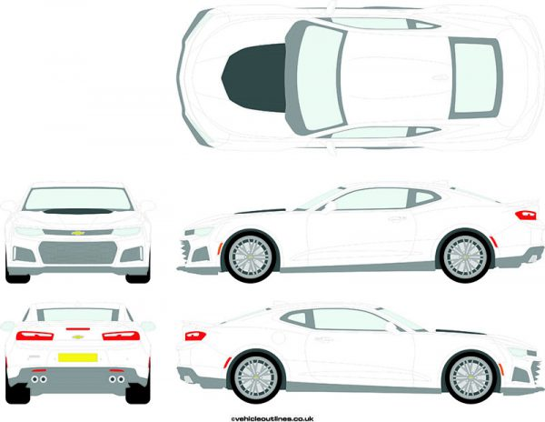 Cars Chevrolet Camero 2016-19