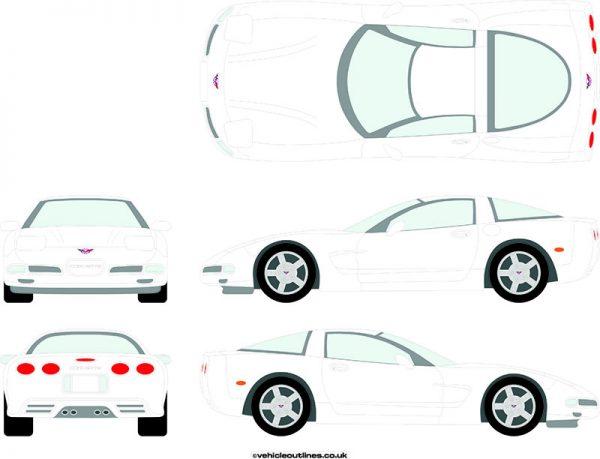 Cars Chevrolet Corvette 1997-2004