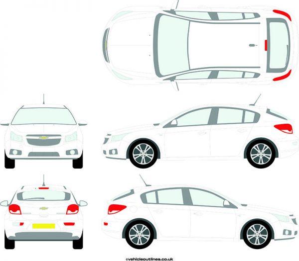 Cars Chevrolet Cruze 2012-16