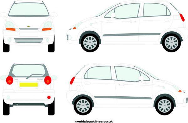 Cars Chevrolet Matiz 2005-09