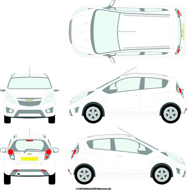 Cars Chevrolet Spark 2010-15