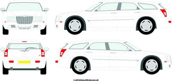 Cars Chrysler 300C 2005-10