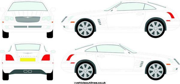 Cars Chrysler Crossfire 2003-08