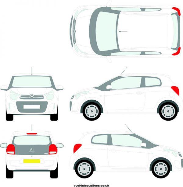 Cars Citroen C1 2014-21