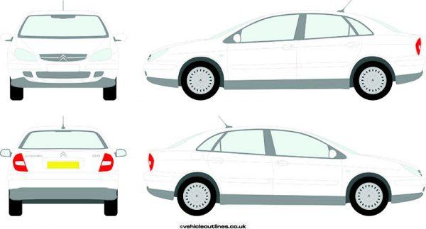 Cars Citroen C5 2001-04