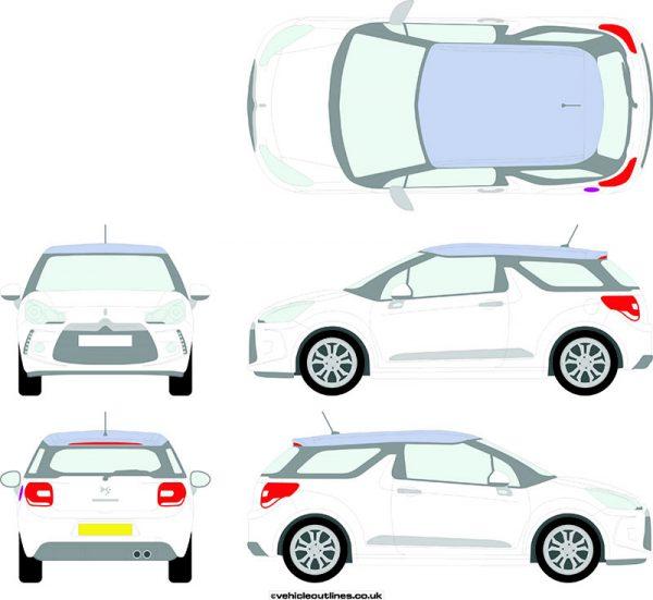 Cars Citroen DS3 2010-16