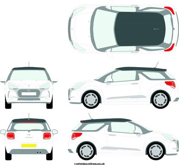 Cars Citroen DS3 2016-21