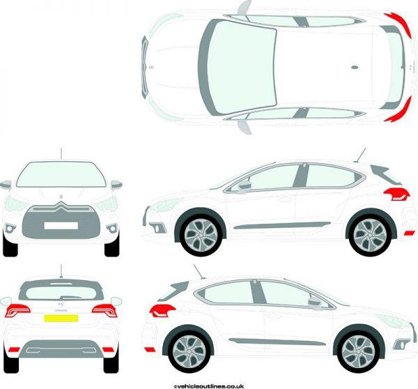 Cars Citroen DS4 2011-15
