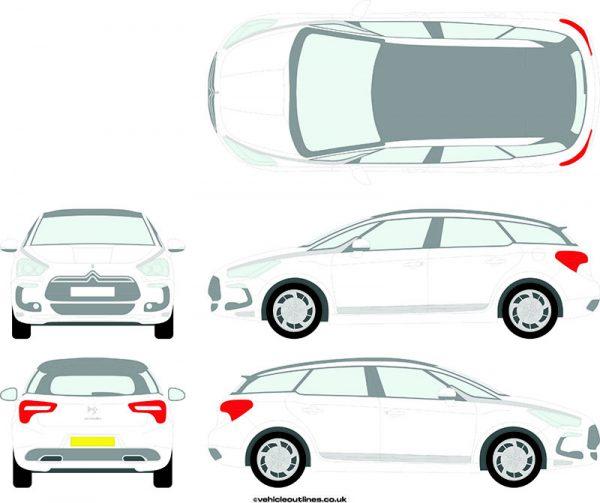 Cars Citroen DS5 202012-15