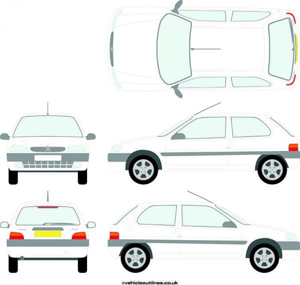 Cars Citroen Saxo 1996-99