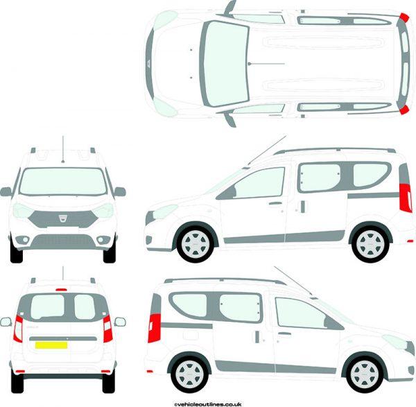 Cars Dacia Dokker 2012-21