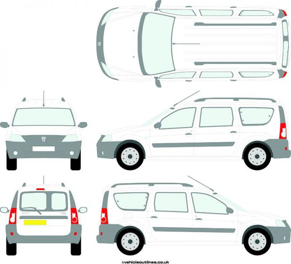 Cars Dacia Logan 2007-13