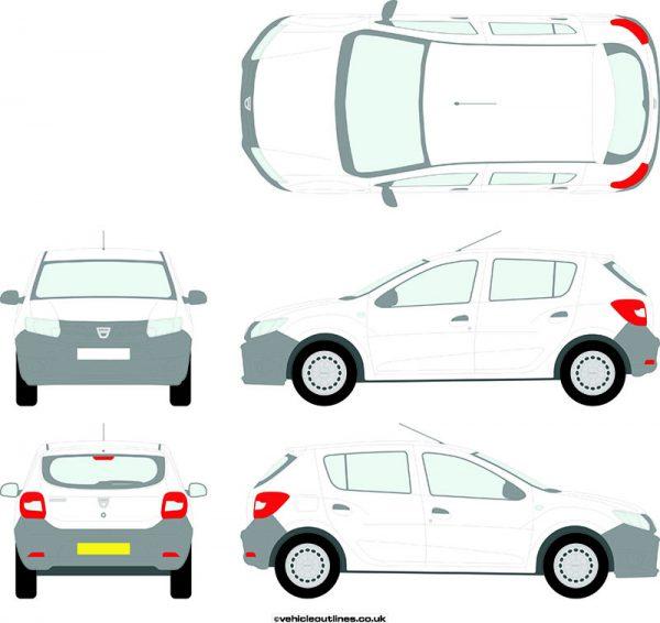 Cars Dacia Sandero 2013-17