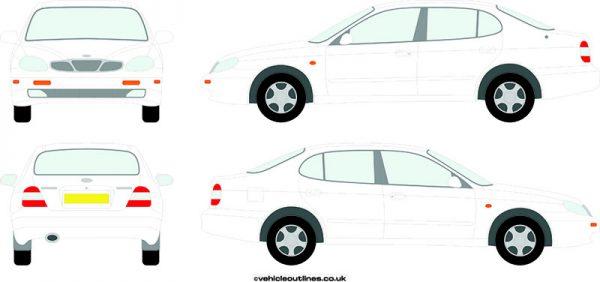 Cars Daewoo Leganza 1997-2002