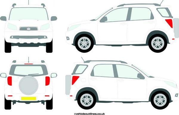 4x4 Daihatsu Terios 2006-10